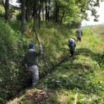 【May】Water channels maintenance